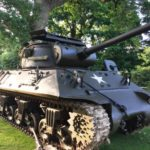 American 1944 M36 tank destroyer