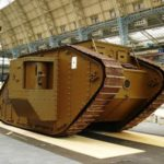 World War One (WW1) Mark 4 Full Size Model Tank